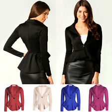 Unbranded Cotton Blend Single Breasted Casual Women's Coats & Jackets