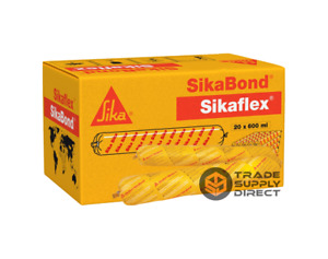 20 x CONCRETE GREY Sika SIKAFLEX CONSTRUCTION AP Polyurethane Sealant 600ml SSG