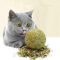 Cat Snack Catnip Ball Lick Nutrition Ball Molar Cat Snacks AU HOT R7Z0 U9E6