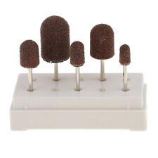 5 Stk Nagelfräser Bits Schleifstifte Schleifkörper Set für Maniküre Pediküre