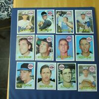 MONTREAL EXPOS 1969 COLLECTION (68 items different) TOPPS cards &+  Signed AUTO