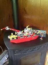 Pre Owned And Complete LEGO 7207 City Fire Boat With Manual.  Nice.