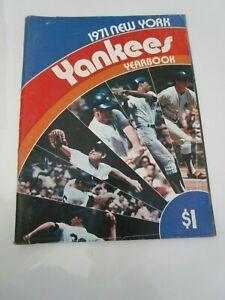 1971 New York Yankees Yearbook