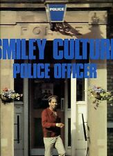 SMILEY CULTURE police officer 12INCH 45 RPM REGGAE HOLLAND 1985 EX