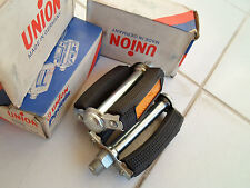 "Vintage NOS Bicycle Pedals UNION 9/16""  4""Axle for SCHWINN RALEIGH BISMARCK NEW"
