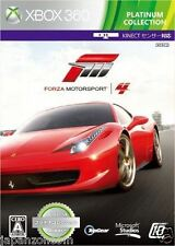 Used Xbox 360  Forza Motorsport 4 MICROSOFT  JAPAN JAPANESE JAPONAIS IMPORT