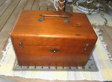 Humphreys' Homeopathic Veterinary Specifics  Dovetailed Brass Handle Box 1886