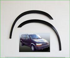 CHRYSLER VOYAGER Noir Mat Extensions D'aile 2 AV ou 2 AR Année 1991-1995 neuf