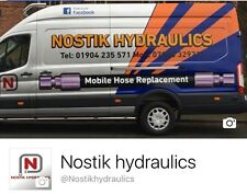 """1/4"""" Hydraulic hoses made to order, Swager, Crimper, Hose, BSP, Metric"""