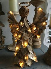 Potterybarn Lit Birch Angel Topper