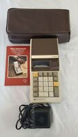 Vtg Texas Instruments TI-5050M Portable Electronic Printing Calculator w/ Memory