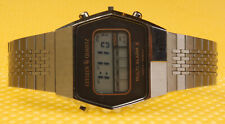 "Men's Vintage CITIZEN ""4-097378Y"" Digital LCD Quartz Watch MADE IN JAPAN <NWoT>"