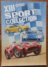 Affiche automobile 13e Sport et Collection 2007 (Ferrari) Le Vigeant, D. Picot