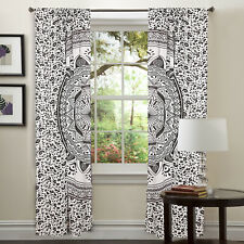 Indien Mandala Hippie Wall Drapes Bohemian Room Door Window Curtains Home Decor