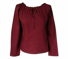Long Sleeve Plus Size Classic Casual Tops & Shirts for Women