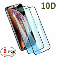 2-Pack Full Coverage Tempered Glass Screen Protector For iPhone 11 Pro Max XS XR