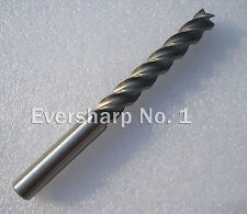 Lot 5pcs 4Flute Hss Extra Long End Mills Cutting Dia 5mm Length 80mm HSS Endmill