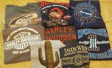 Harley-Davidson Men's Pocket T-shirt XL Lot of 8 vintage used rolling thunder