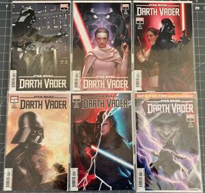 Marvel 2020 Star Wars Darth Vader Comic Lot #1-6 First Prints NM