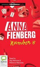 Number 8 Anna Feinberg Compact Disc AUDIO Book (English)-NIP
