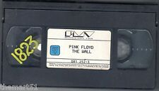 PINK FLOID   THE WALL (1982) VHS PVM Video 1a Ed. -  No Cover  rara