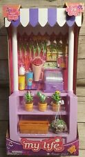 My Life As Flower Stand Playset Doll Accessories Cash Register Flowers 29 pcs