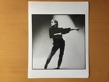 Rare Vintage American Rock Artist: 1980s New Wave Punk Musician Publicity Photo