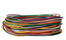 Equipment wire cable. 7/0.2mm strand. Hook up. 11 colours 1kV 2 - 100 mtrs