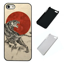 Japanese Tiger plastic phone case Fits iPhone