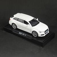 Audi RS6 Quattro 1/32 Metall Die Cast Modellauto Spielzeug Model Sammlung Weiß