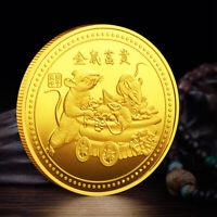 2020 Lucky Rat Family Commemorative Coin Zodiac Souvenir Envelope Mouse Gifts