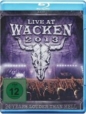 LIVE AT WACKEN 2013 3 BLU-RAY NEU