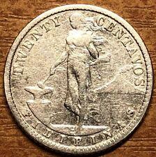 Philippines 20 centavos 1918, Silver!