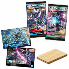 GUNDAM Gunpla Package Art Collection Chocolate Wafer 6 20Pack BOX (CANDY TOY)