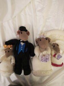 Handmade bride Wool Dolls