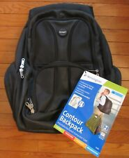 "Kensington Contour Computer Backpack for 17"" Laptops K62238A Black NWT"