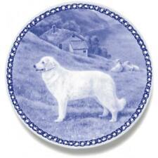 Kuvasz - Dog Plate made in Denmark from the finest European Porcelain