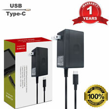 Charger AC Adapter Wall Power Supply for Nintendo Switch Type C USB