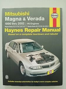 Mitsubishi Magna & Veranda Haynes Repair Manual 1996 thru 2002 V6 Engines