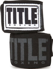 "Title Boxing Power-Flex Elite 180"" Fist Wraps - Black"
