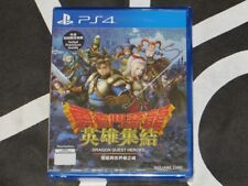 Playstation 4 PS4 Import New Dragon Quest Heroes Asian Jp Voice Chinese Subtitle