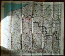 Flemmings Kriegskarte Nr. 23, Nördliche Westfront, Stand: Dezember 1916