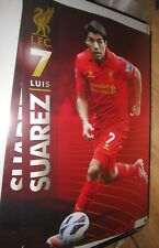 Luis Suárez -  Liverpool - Action Poster - Unframed