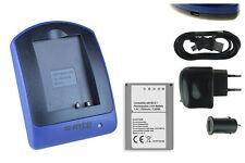 Chargeur+Batterie (USB) BLN-1 pour Olympus OM-D E-M1, E-M5 / PEN E-P5