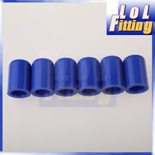 "6 X 4mm 5/32"" Silicone Blanking Cap Intake Vacuum Hose End Bung Plug Silicon Cap"