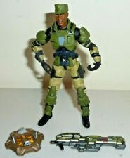 halo 3 collection sgt avery johnson figure mcfarlane complete mint