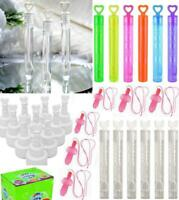 Wedding Heart Wand Bubbles Table Decorations Tube Willy Hen Party Bag Fillers