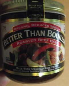 Better Than Bouillon - Organic Roasted Beef Base - 16 oz.  f