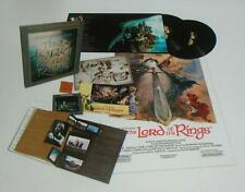 LORD OF THE RINGS 2 VINYL LP COLLECTOR'S ED BOXED SET 1978 SOUNDTRACK TOLKIEN