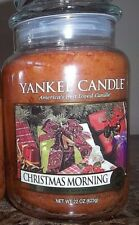 Yankee Candle  Christmas Morning   22 oz.NEW 1 Single  Christmas   Free Shipping